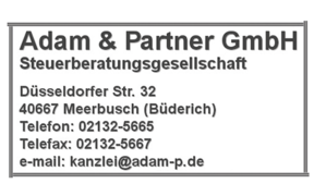 Logo Adam & Partner